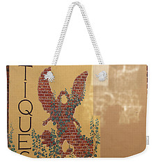 Weekender Tote Bag featuring the photograph Old Town Grants Pass Detail by Mick Anderson