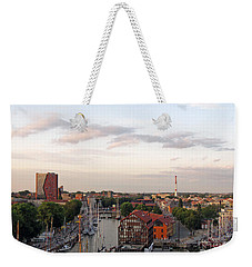 Old Town Klaipeda. Lithuania. Weekender Tote Bag by Ausra Huntington nee Paulauskaite