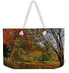 Old Tree And Foliage Weekender Tote Bag