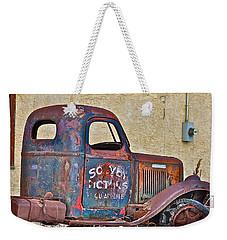 Old Truck Weekender Tote Bag by Johanna Bruwer