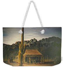 Old Tucson Home Weekender Tote Bag by Frank Hunter