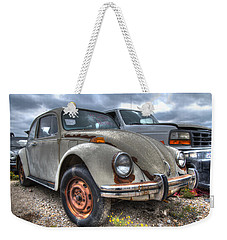 Old Vw Beetle Weekender Tote Bag