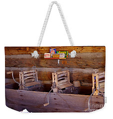 Weekender Tote Bag featuring the photograph Old West 2 by Deniece Platt
