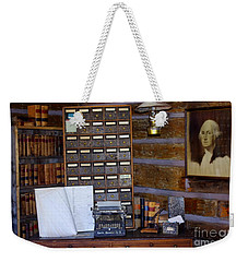 Weekender Tote Bag featuring the photograph Old West 3 by Deniece Platt