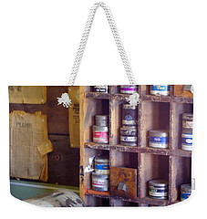 Weekender Tote Bag featuring the photograph Old West 6 by Deniece Platt