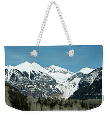 On The Road To Telluride Weekender Tote Bag