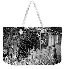 Weekender Tote Bag featuring the photograph Once A Castle by Chriss Pagani
