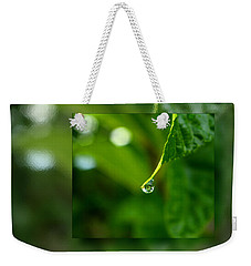 One Drop In The Bigger Picture Weekender Tote Bag