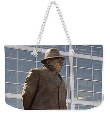 Weekender Tote Bag featuring the photograph One Of The Greatest by Kay Novy