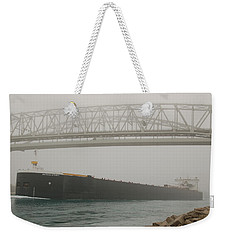 Only A Stones Throw Away Weekender Tote Bag by Randy J Heath