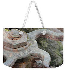 Weekender Tote Bag featuring the photograph Open Or Close by Tiffany Erdman