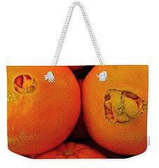 Oranges Weekender Tote Bag by Bill Owen
