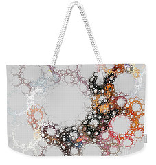 Weekender Tote Bag featuring the digital art Orbital by Kim Sy Ok