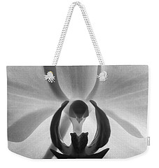 Weekender Tote Bag featuring the photograph Orchid Heart by Kume Bryant