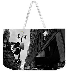 Weekender Tote Bag featuring the photograph Orpheum Theater by Nina Prommer