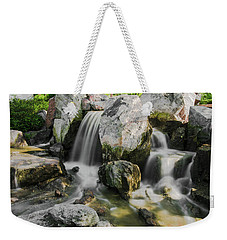 Osaka Garden Waterfall Weekender Tote Bag