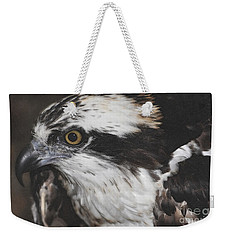 Weekender Tote Bag featuring the photograph Osprey by Lydia Holly