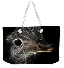 Ostrich Fractalius Weekender Tote Bag