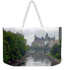 Ottawa Rideau Canal Weekender Tote Bag