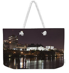 Weekender Tote Bag featuring the photograph Ottawa Skyline by Eunice Gibb