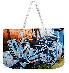 Out Of Gear Weekender Tote Bag