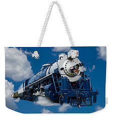 Out Of The Blue Weekender Tote Bag by Doug Long