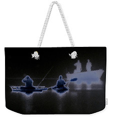 Out Of The Darkness Weekender Tote Bag by Myrna Bradshaw