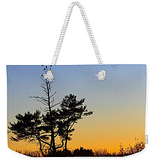 Weekender Tote Bag featuring the photograph Out On A Limb by Davandra Cribbie