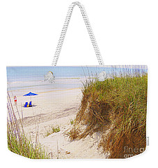 Weekender Tote Bag featuring the photograph Outerbanks by Lydia Holly