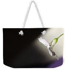 Weekender Tote Bag featuring the photograph Oxalis Bloom by Kume Bryant