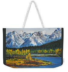 Oxbow-grand Tetons  Weekender Tote Bag