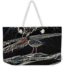 Oyster On The Rocks Weekender Tote Bag