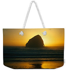 Pacific City Sunset Weekender Tote Bag