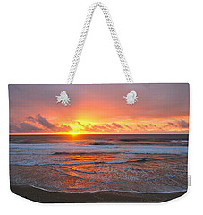 Pacific Sunset Weekender Tote Bag by Eric Tressler