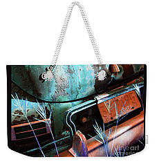 Packard On Ice Weekender Tote Bag by Joe Jake Pratt