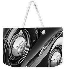 Weekender Tote Bag featuring the photograph Packard One Twenty by Gordon Dean II