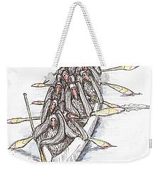 Paddling Weekender Tote Bag