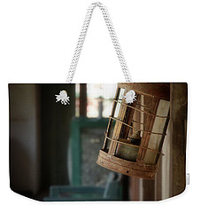 Weekender Tote Bag featuring the photograph Paddy's Pub by Vicki Ferrari