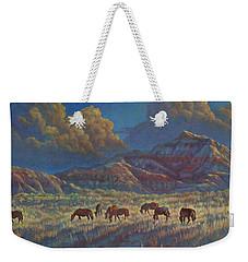 Painted Desert Painted Horses Weekender Tote Bag