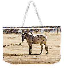 Painted Horses II Weekender Tote Bag by Angelique Olin