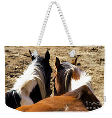 Painted Horses IIi Weekender Tote Bag
