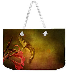 Weekender Tote Bag featuring the photograph Painterly Ballet by Anne Rodkin