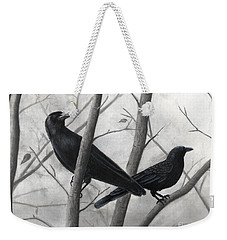 Pair Of Crows Weekender Tote Bag