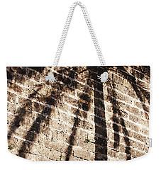 Palm Shadow Weekender Tote Bag