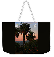 Palm Trees And Orange Trees Weekender Tote Bag