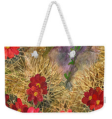 Palo Verde 'mong The Hedgehogs Weekender Tote Bag