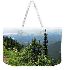 Panoramic Jewel Basin Montana Weekender Tote Bag