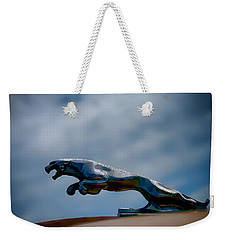 Panther Hoodie Weekender Tote Bag by Douglas Pittman