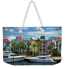 Weekender Tote Bag featuring the photograph Paradise Island Style by Steven Sparks
