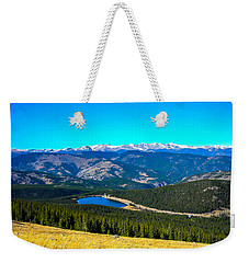 Weekender Tote Bag featuring the photograph Paradise by Shannon Harrington